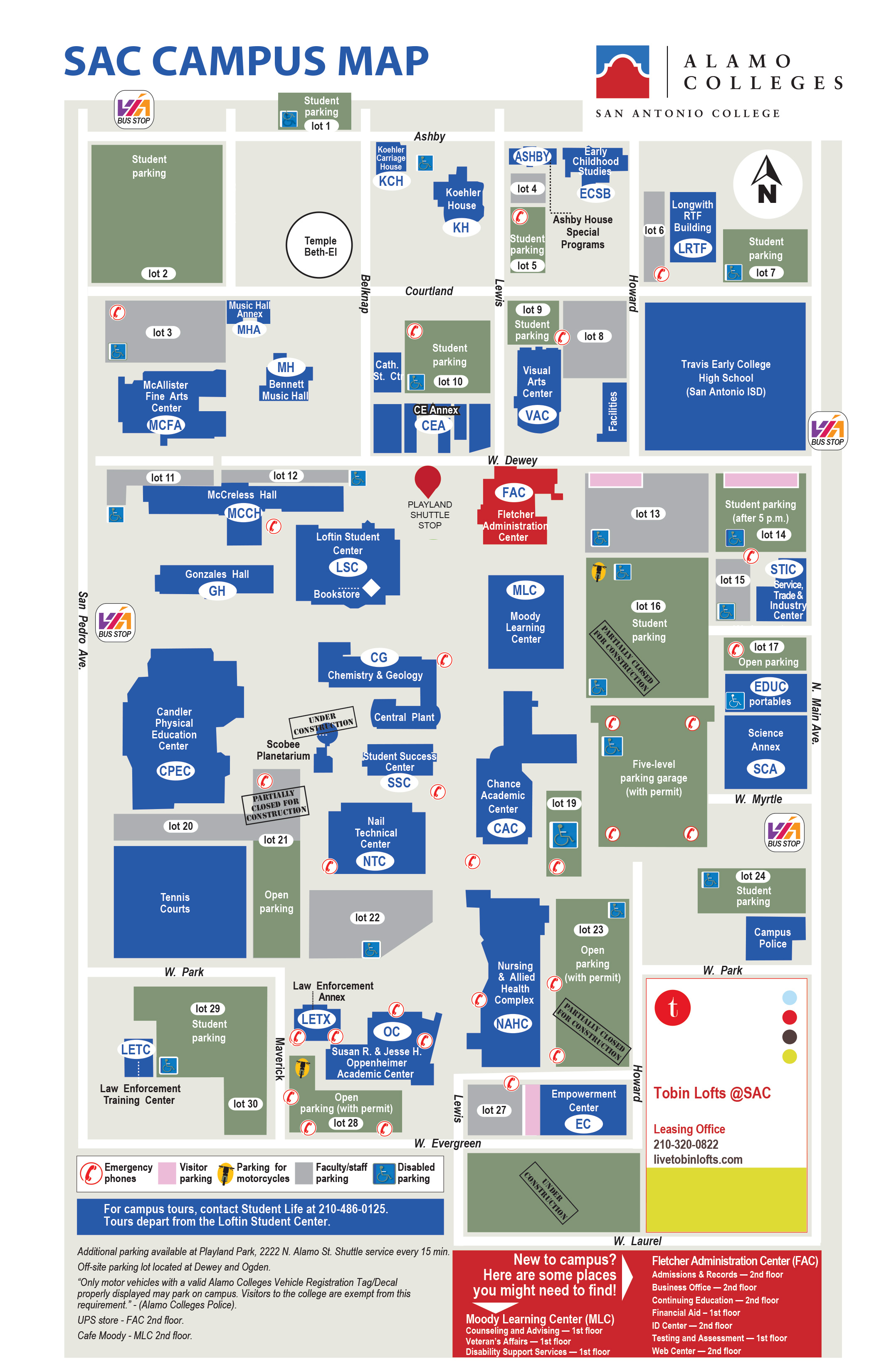 locations and maps san antonio college acalog acmsâ