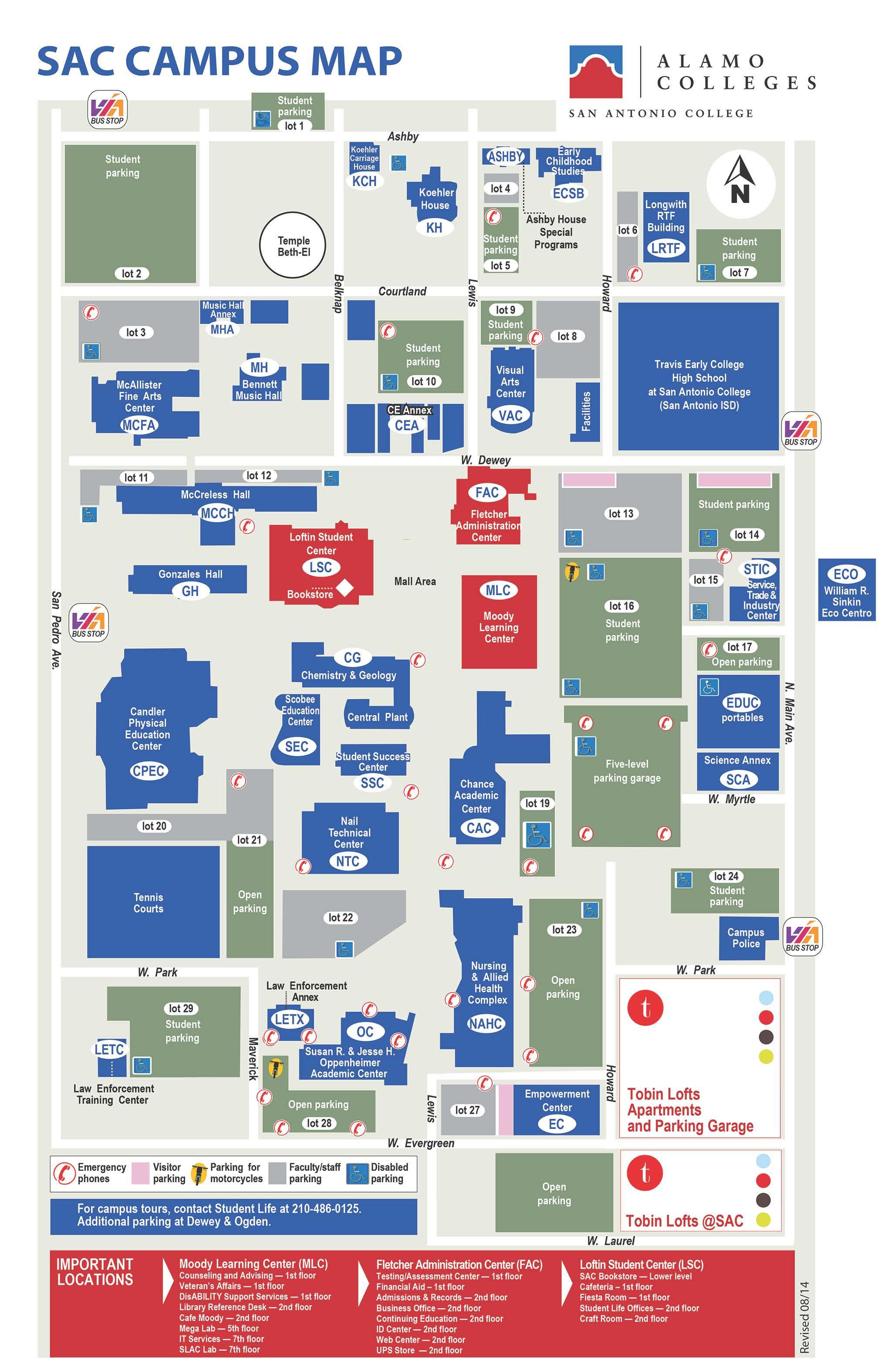 Northeast Lakeview Gym Campusmap Fall %b%b
